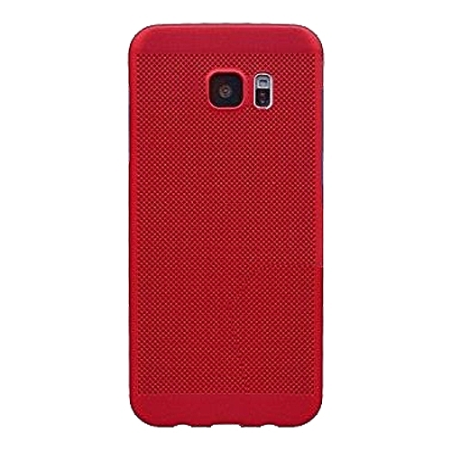 brand new f8667 7f2c3 Hard Phone Back Case For Samsung s7 Edge - Red