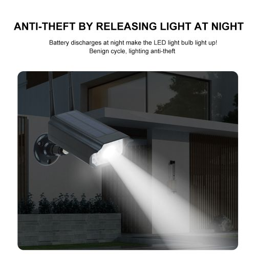 Shop Generic Motion Sensor Solar Light Security Camera