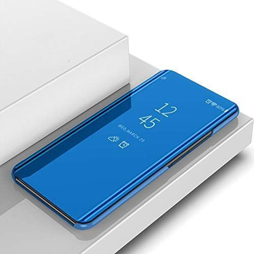OPPO A9 2020 Mirror Leather Case - Blue