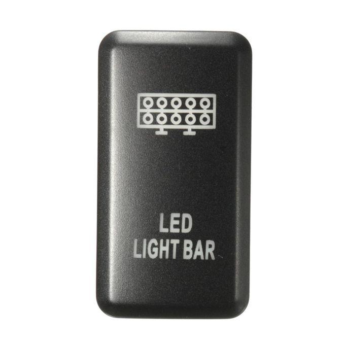 12V 3A LED Fog Light Bar Push Switch For Toyota Landcruiser Hilux Prado 120