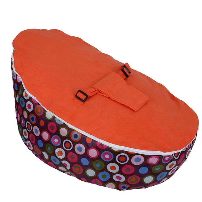 Groovy Baby Bean Bag Base Snuggle Bags Infant Sleeping Bed Seating Without Filling Circleorange Machost Co Dining Chair Design Ideas Machostcouk