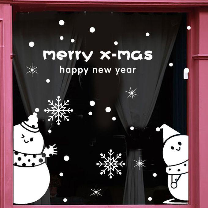 Santa Claus list Christmas Stickers Graphics Nursery Wall Window Decorations Art