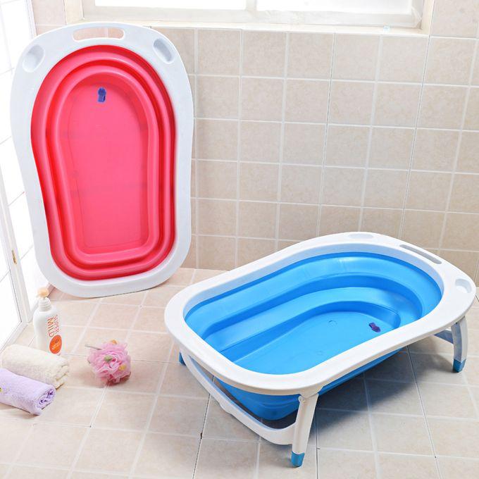 Shop Baby Club Baby Folding Bathtub / Basin - Blue | Jumia ...