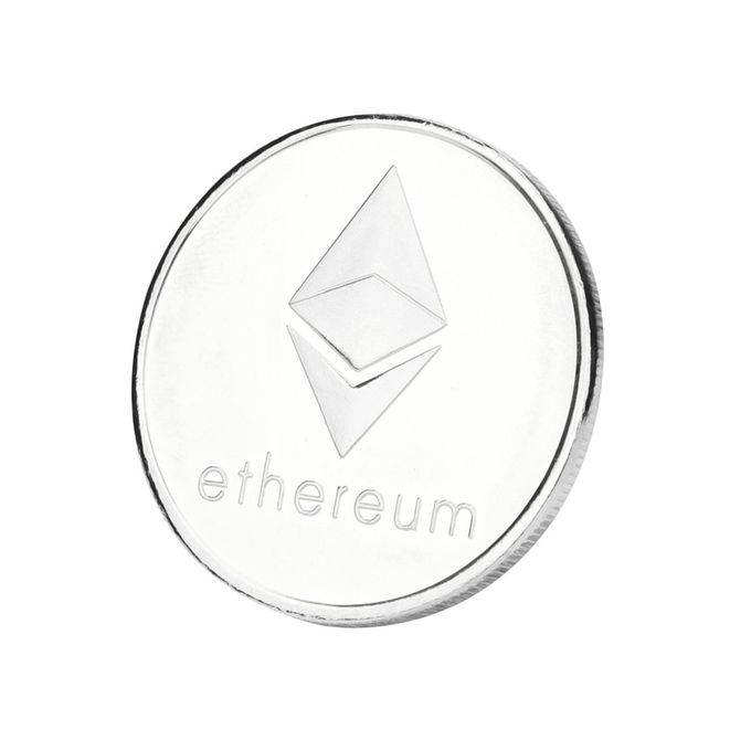Silver Plated Commemorative Litecoin Collectible Golden Iron Miner Coin Gift