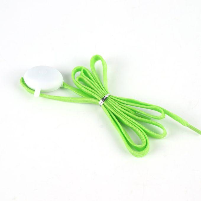 Shoelaces For Christmas.Led Nylon Shoelaces Light Up Flashing Shoe Laces For Christmas Gift Party