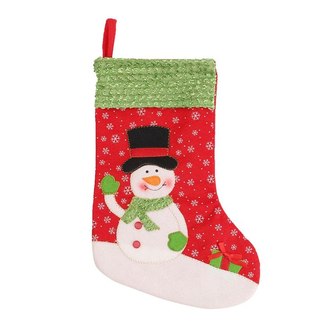 Vintage Christmas Stockings.New Year Vintage Christmas Stocking Snowman Bag Gift Sock Ornament Socks