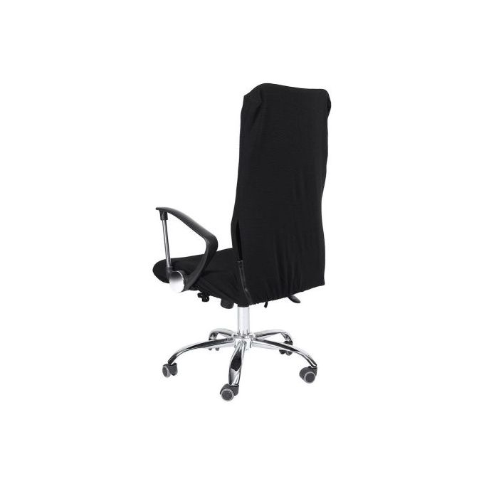 Wondrous Removable Stretch Swivel Chair Covers Office Armchair Seat Slipcovers Black Creativecarmelina Interior Chair Design Creativecarmelinacom