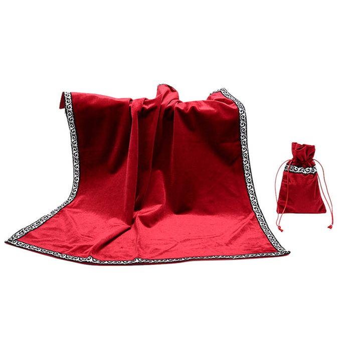 Altar Tarot Table Cloth Decor Divination CARDS Square Tablecloth Accessaries