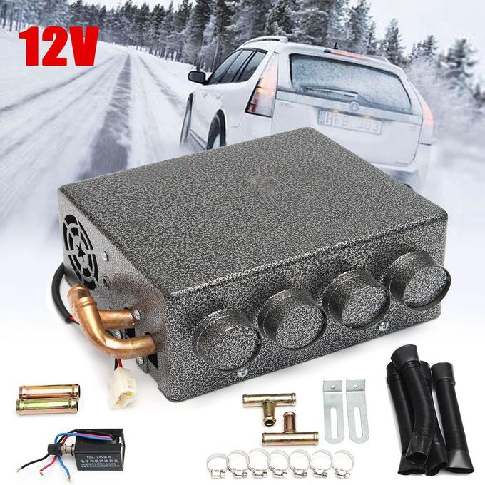 CAR and Truck Heater 12V Under Dash//Speed Switch