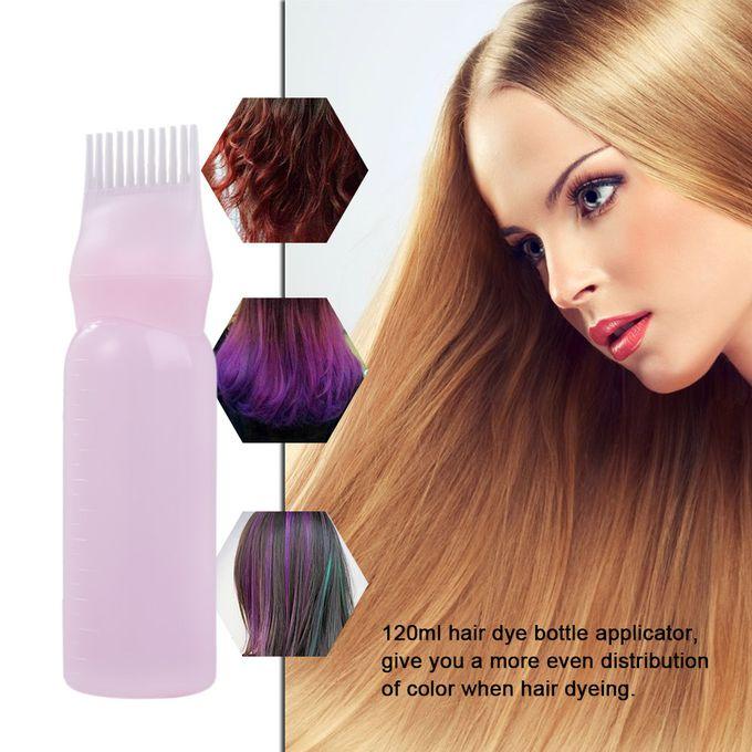 120ml Hair Dye Bottle Applicator Brush Dispensing Kit Hair Coloring Tool  Salon Hair Dyeing Accessories