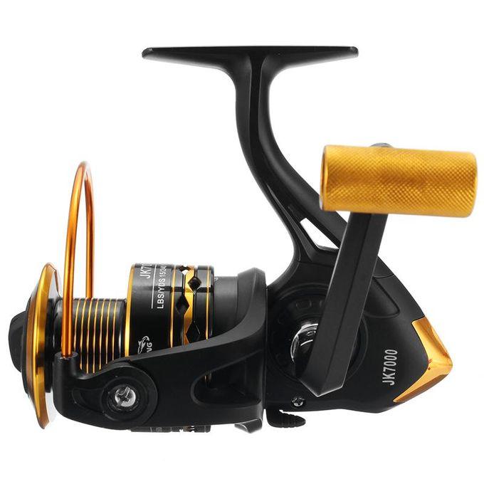 JK7000 Ball Bearing Fishing Spinning Reels Saltwater Freshwater Left Right Hand