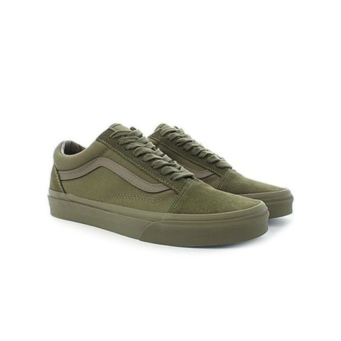 Plimsolls Sneakers - Army Green