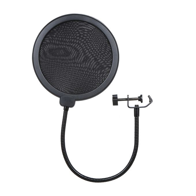 Pop Shield Mic Wind Screen For Better Vocal Recordings Pop Filter For Studio Microphone