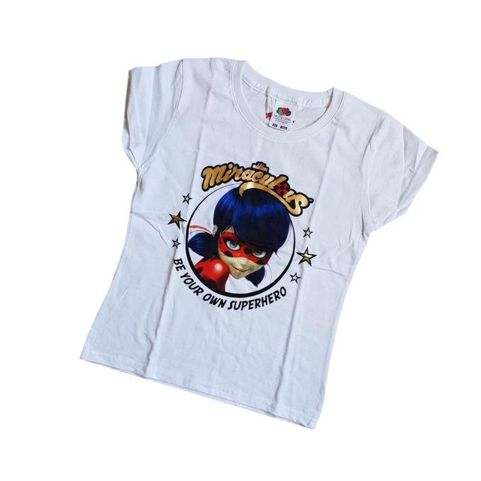 Miraculous Ladybug Girls Short Sleeve T-Shirt