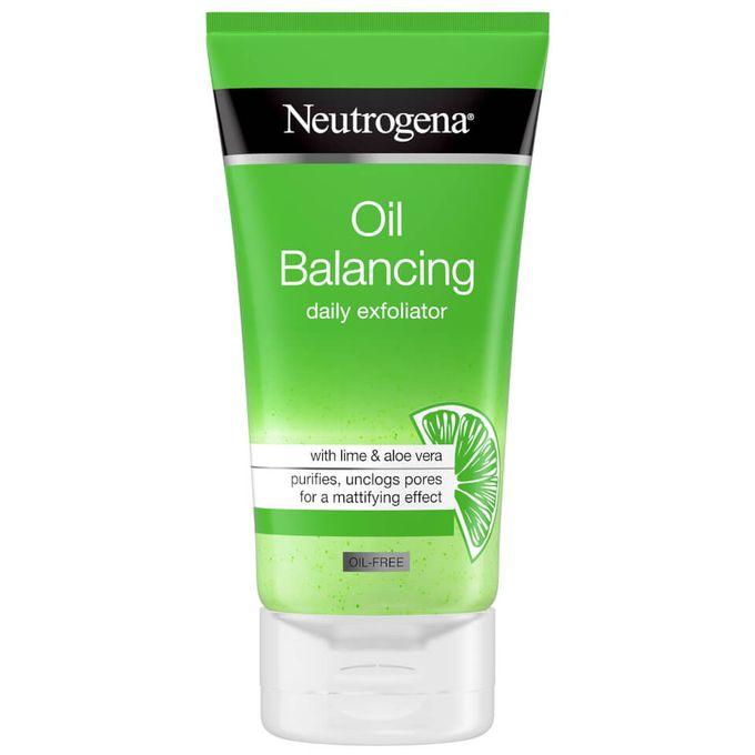 Shop Neutrogena Oil Free Oil Balancing Daily Exfoliator Face Scrub