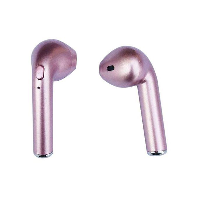 Shop Wireless Bluetooth Headset Rosegold Jumia Uganda