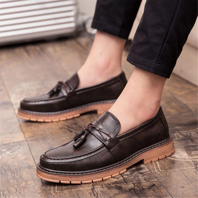 Shop Men Tassel Loafers Breathable