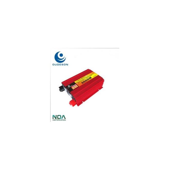3000W Power Inverter DC 12v AC 24v Pure Sine Wave - Oudeson