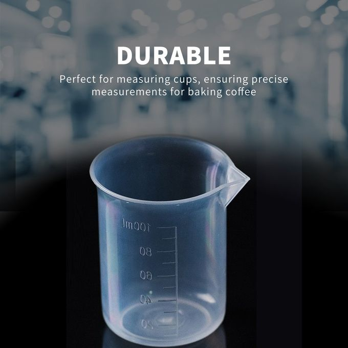 Shop Generic 100ml Transparent Cup Scale Plastic Measuring