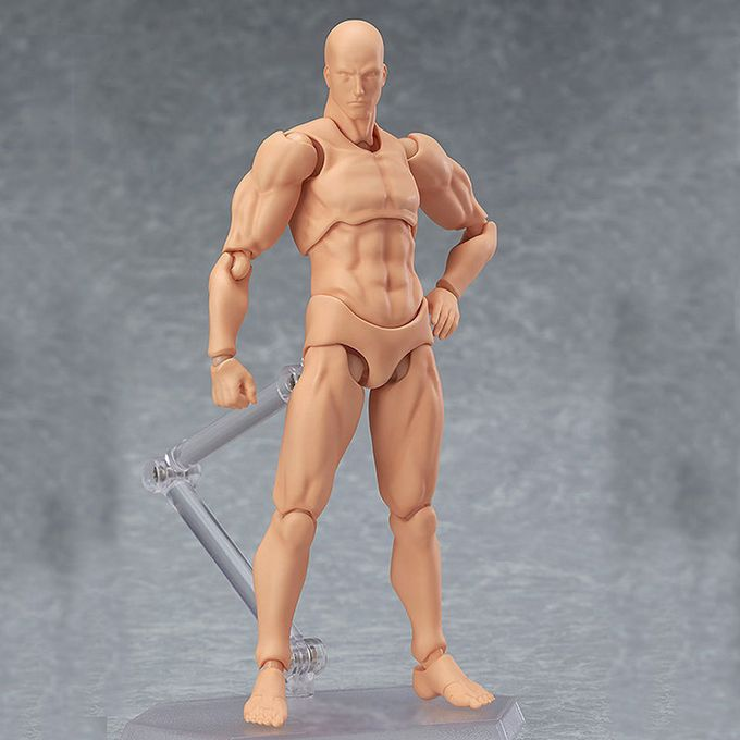 Artists Action Figure Model Human Mannequin Man Woman Set Drawing Figures USA