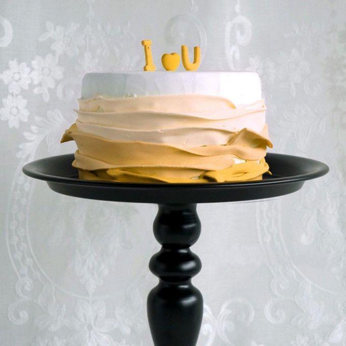 Black Vintage Iron Wedding Cupcake Stand Cake Dessert Holder Display Party Decor