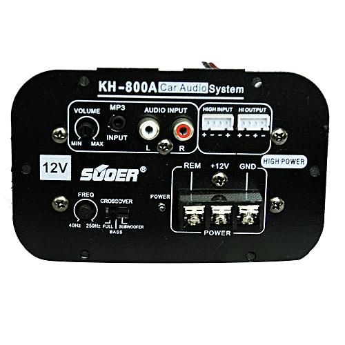 Buy Generic Kh 800a Car Amplifier Audio System 12v Black Online