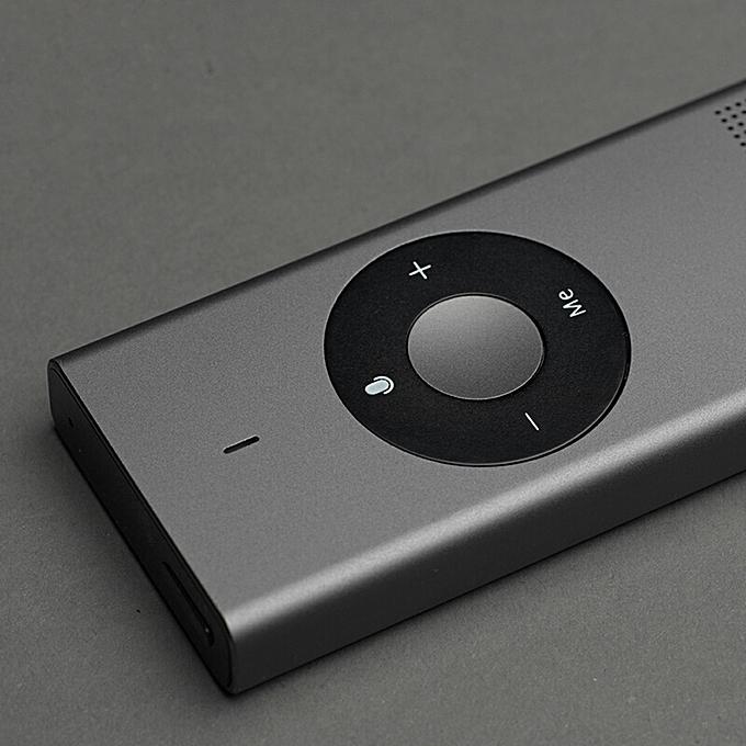 Xiaomi Portable Mini Handheld AI Translator Stick Intelligent Language  Translator Device Electronic Pocket Voice 14 Languages Microsoft  Translation