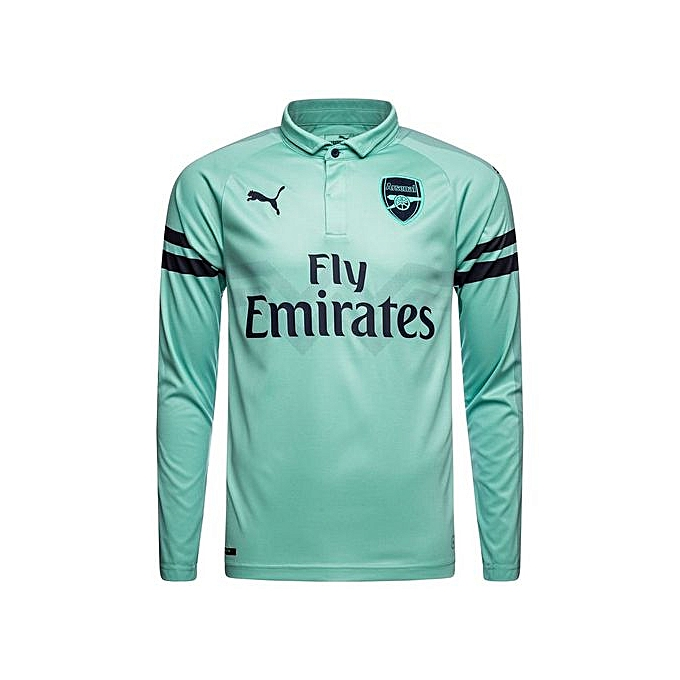 a56338271 Generic Replica Arsenal fc 2018 19 Away Jersey - Light Green