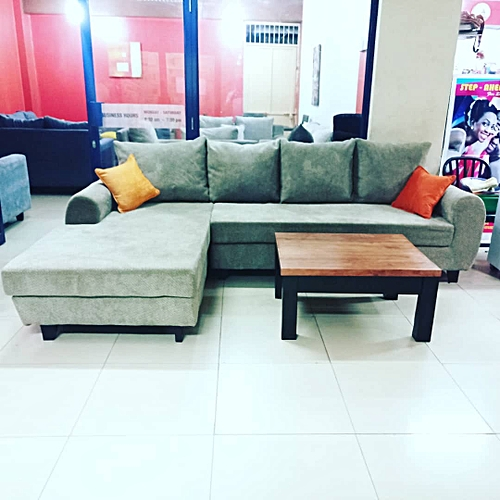 Sofa Sets In Uganda: Buy White Label L Sectional Sofa Set . 5 Sitter Large