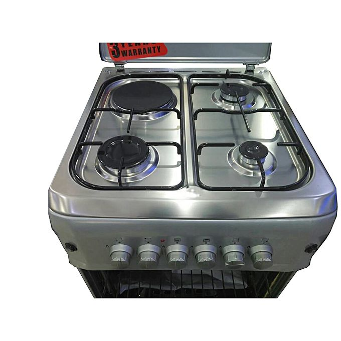 S5031g i l 3 gasplates 1 electric plate gas cooker oven for Aaina beauty salon electronic city