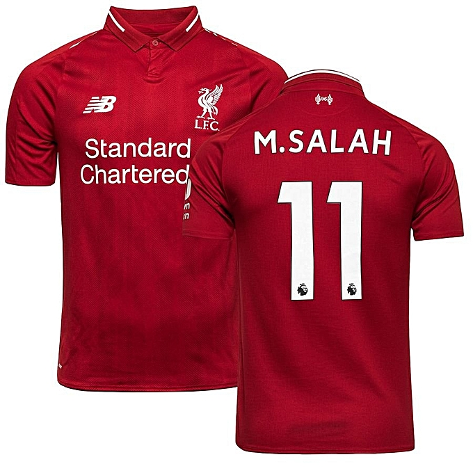 online retailer 7db68 05d71 Curstomised M.Salah Liverpool jersey 2018/19 Replica, Red