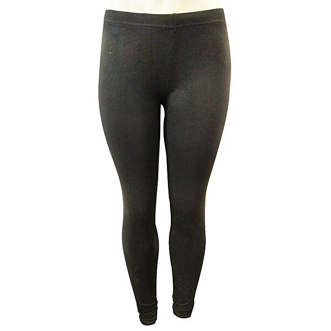 b5ef262558838 Buy Generic Women's Designer Trendy Leggings - Black online | Jumia ...