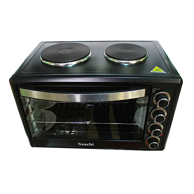 Buy Saachi Saachi Electric Oven With 2 Hot Plate Online