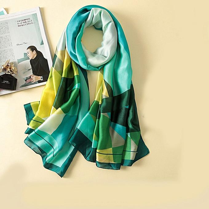 8f1c357f6 Women's Silk Scarf Beach and Echarpe Luxury Wrap Designer Scarves