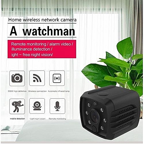 Wifi Mini Camera H7 P2P IP Micro DVR Camera Wireless 1080P 720P HD  Camcorder IR Night Vision Video Recorder Mini Cam - Black