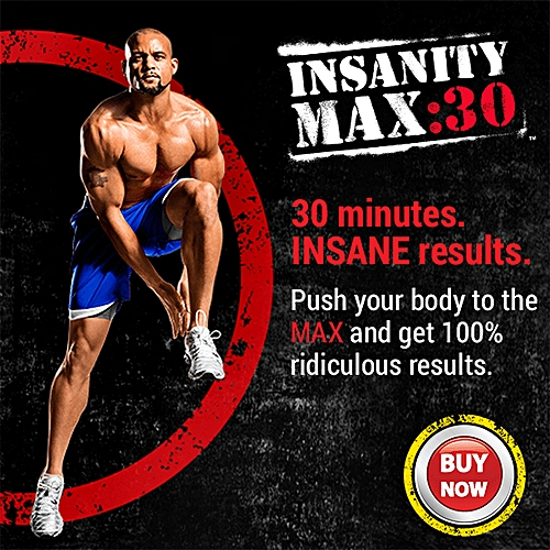 Insanity Max 30: Home Workout Exercise Program - DVD Series