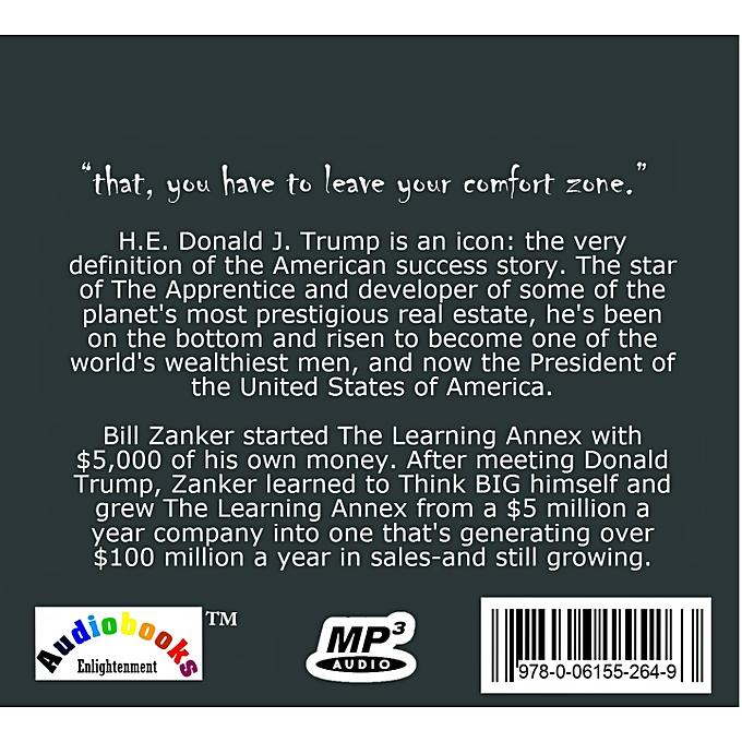 Think Big and Kick Ass, written by Donald J  Trump and Bill Zanker,  Audiobook
