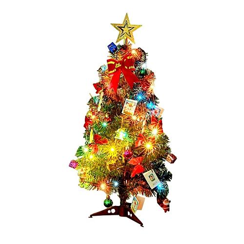 Mini Table Top Christmas Tree Decoration Led Decor Home Xmas Gift Party