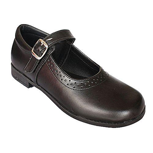 Bata Black School Shoes With Velcro