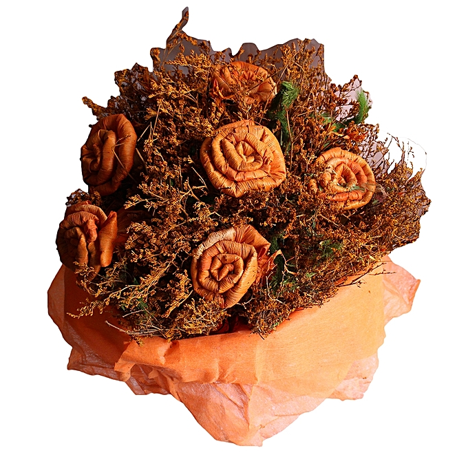 Buy - Dry Flower Bouquet - Orange @ Best Price Online - Jumia Uganda