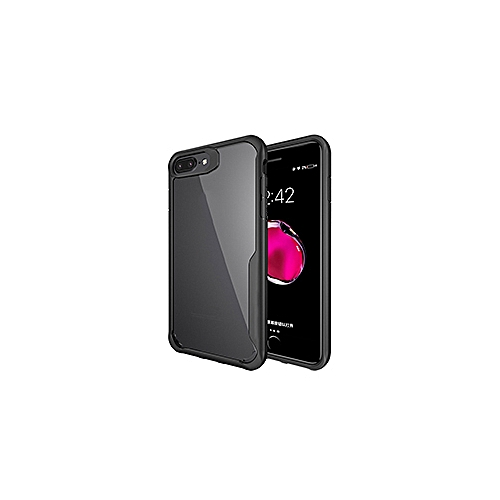 reputable site 500cc 067cd Clear Phone Back Cover for iPhone 6S Plus Case Ultrathin Shockproof Hybrid  TPU PC