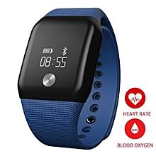 ebee4ef62f75df Smart Watch Blood Pressure OLED Touch Screen Waterproof Heart Rate Monitor  Smartwatch Health Bracelet For IOS