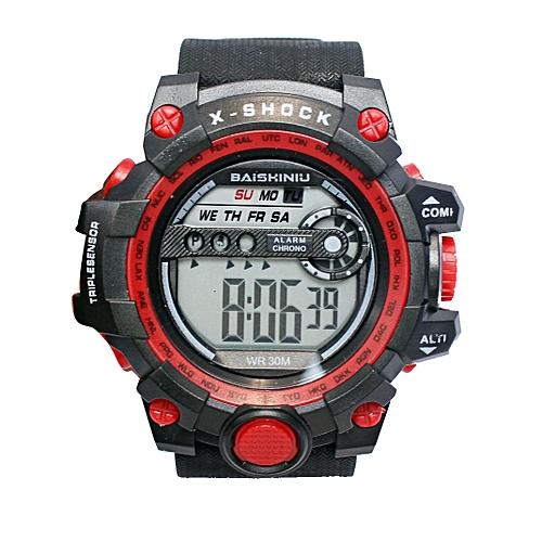 X Shock Baiskiniu Sports Watch Black Red