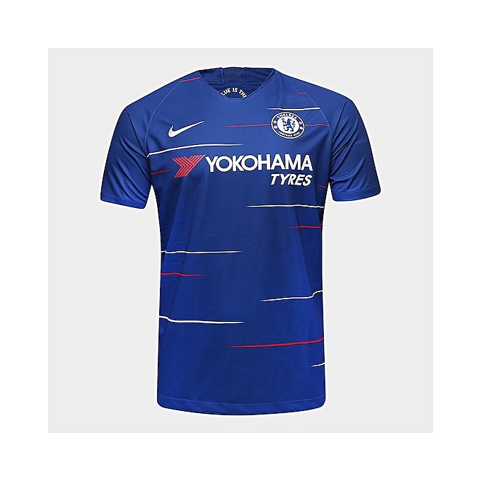 0268cfa1c Generic Replica Chelsea FC 2018 19 short sleeve jersey