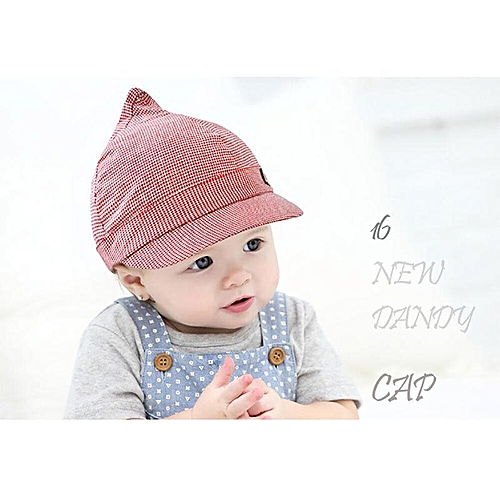 b1f1ccf64a07a6 Buy Generic 1Pc Baby Girls Boys Cotton Hat Summer Beach Outdoor Sun Hats Cap  For 6-18 Months Kids (#1 Red) online   Jumia Uganda