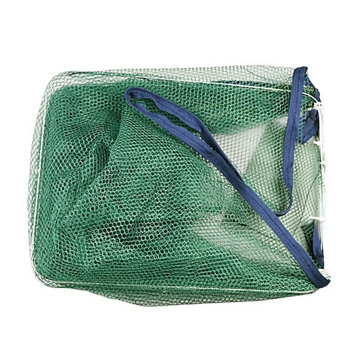 Nylon Fishing Net Catch Crab Fish Shrimp Minnow Mesh Cage Fishing Trap dark  green 800*250