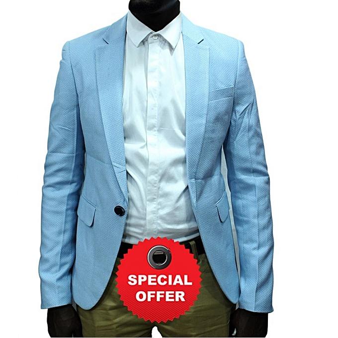 Blazers Jumia: - Long Sleeve Blazer - Sky Blue