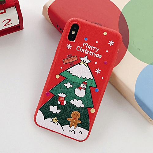 super popular ccb73 d058c Hiamok Merry Christmas Phone Case Xmas TPU Ultra Thin Cover for iPhone XS  Max 6.5 Inch