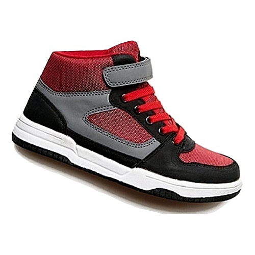 Generic Renegade Sole Boys High Top Sneakers - Black fcf14fe371a8