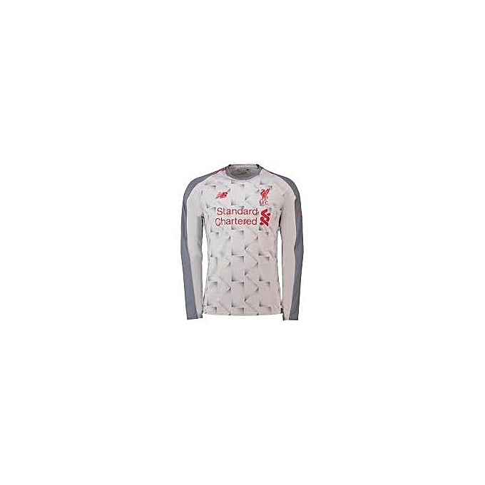 huge selection of ab0c0 d85b7 Replica Liverpool FC 2018/19 Away Jersey - Grey,White